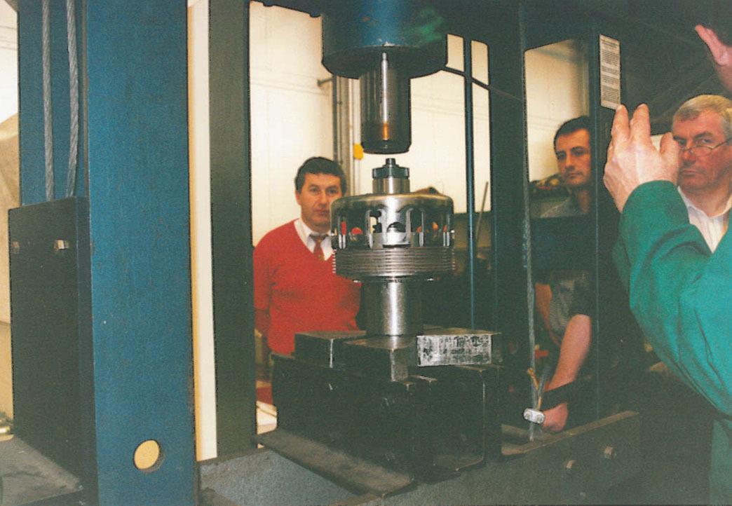 Visita presso lo stabilimento di Colonia della Deutz-Fahr di un gruppo della SAME France