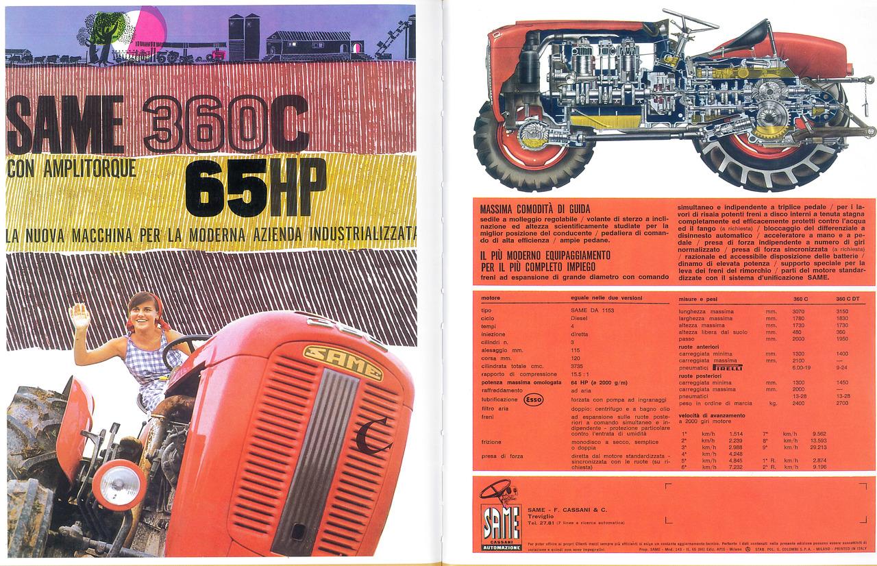 360 C 65 HP con amplitorque
