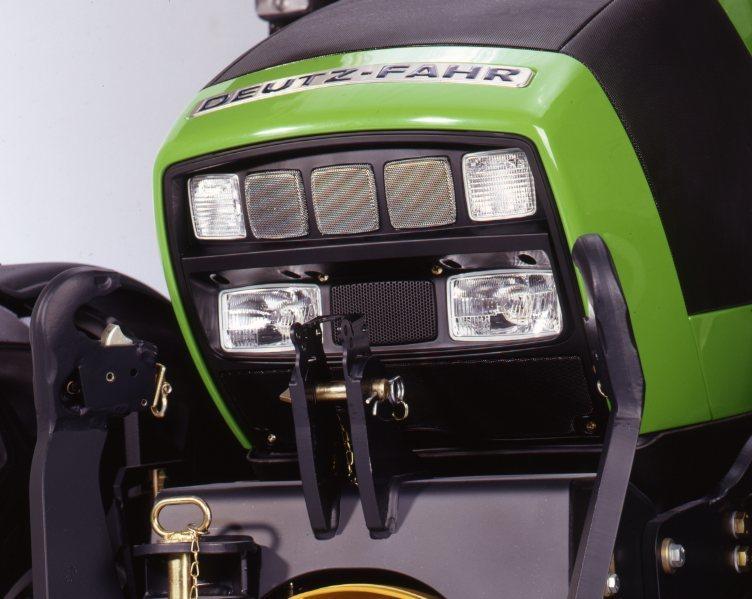 [Deutz-Fahr] trattore Agrotron 128 dettagli