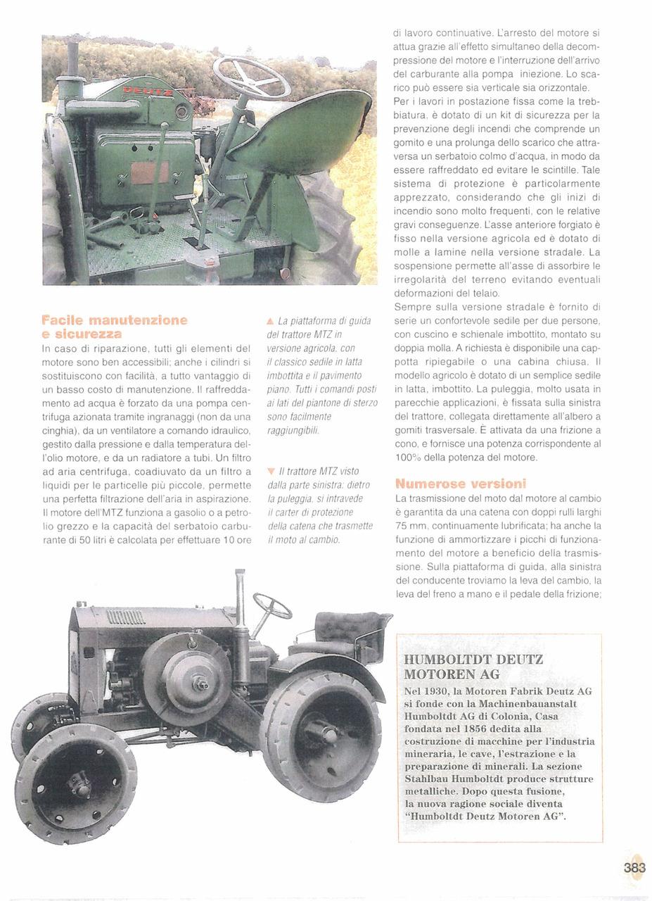 Deutz MTZ 120, il trattore che imporrà il marchio