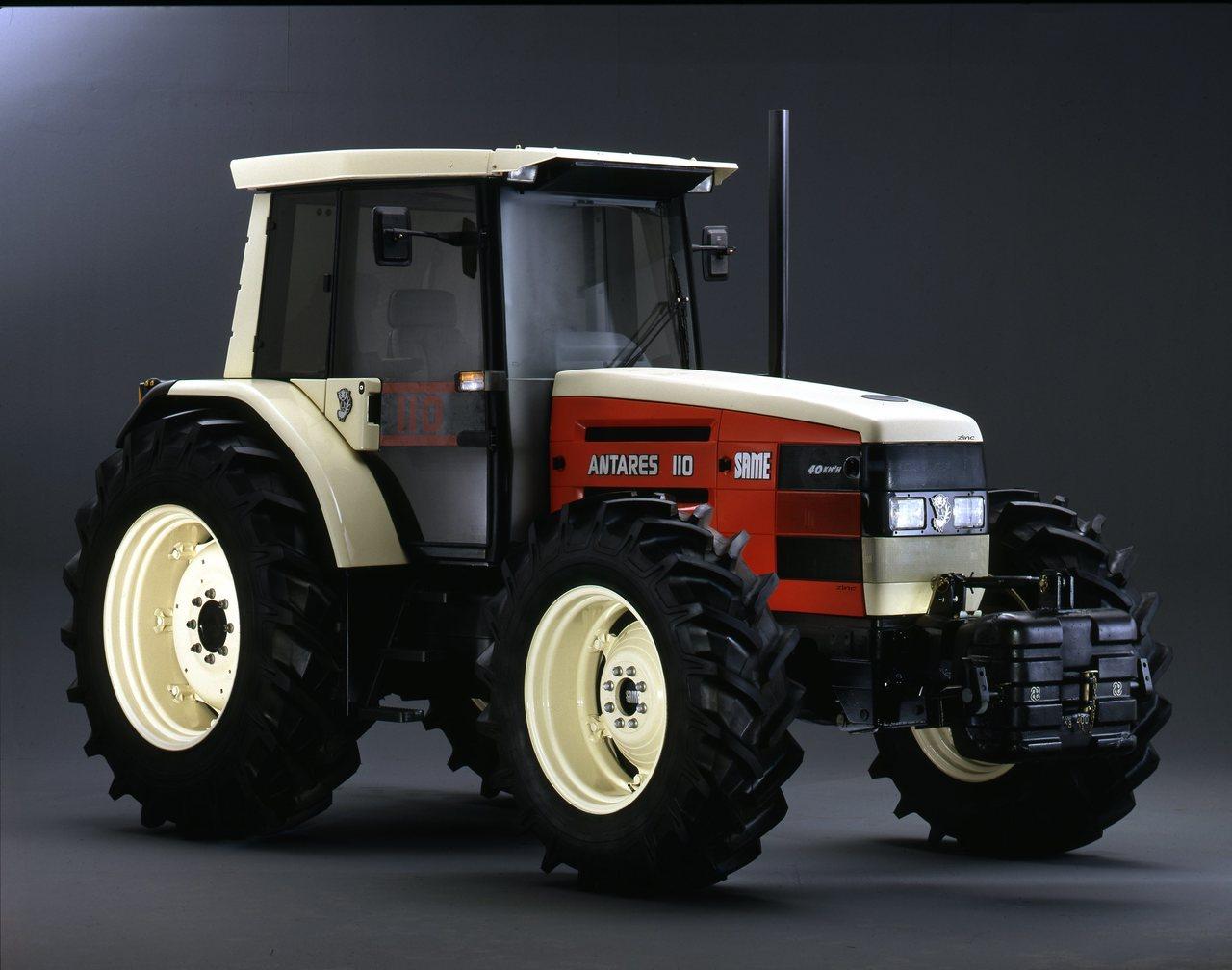 [SAME] Prove di cofanatura trattore Antares 110