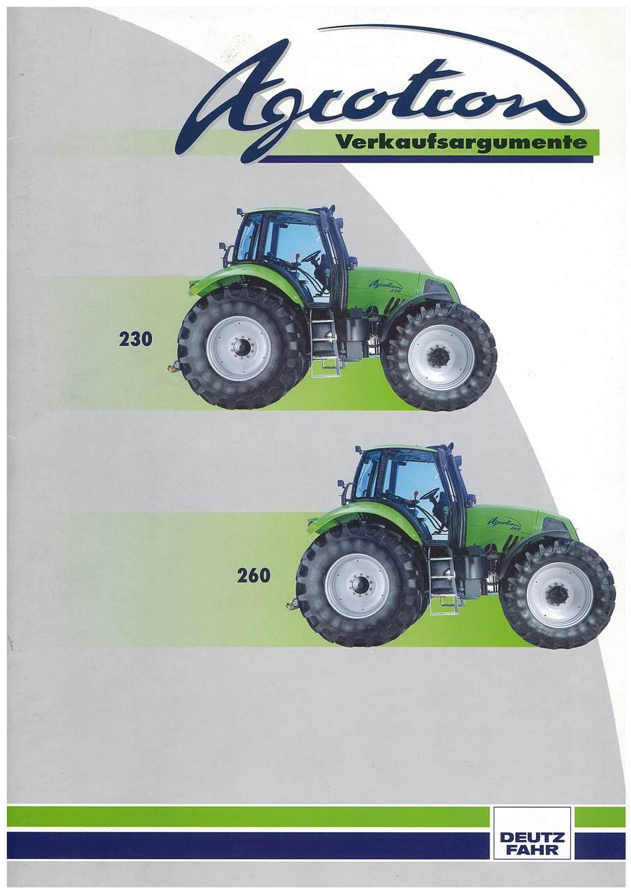 Agrotron - Verkaufsrgumente - 230-260