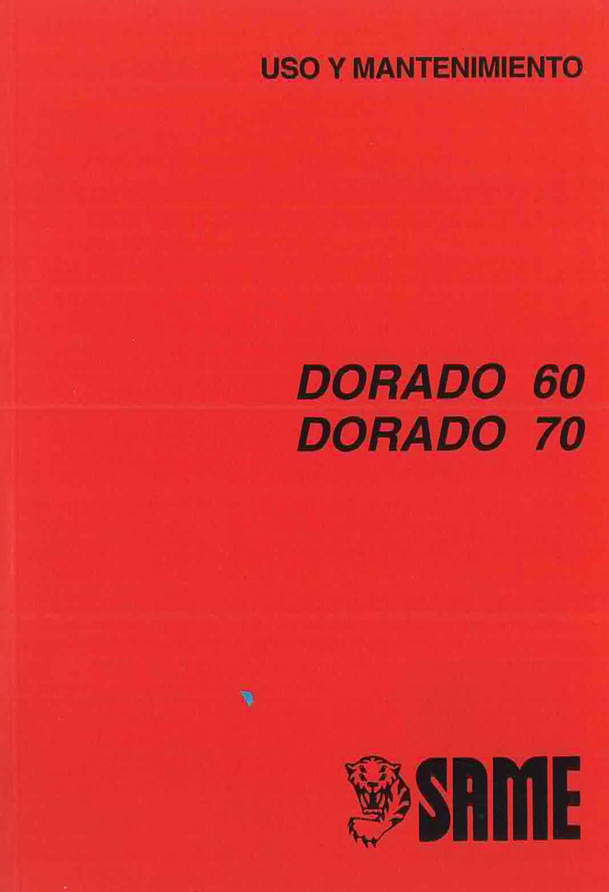DORADO 60 - 70 - Uso y mantenimiento