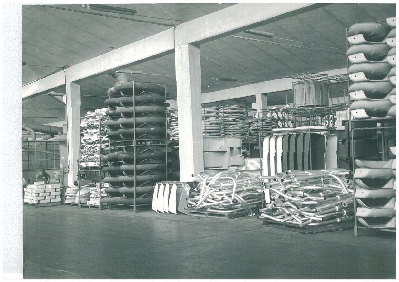 Stabilimento Same - Interno del magazzino della produzione