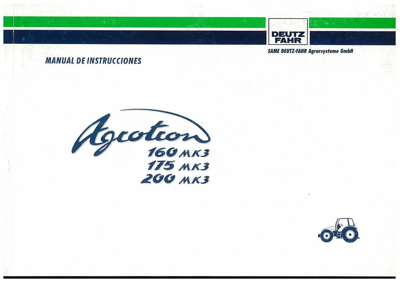 AGROTRON MK3 160-175-200 - Uso y Mantenimiento