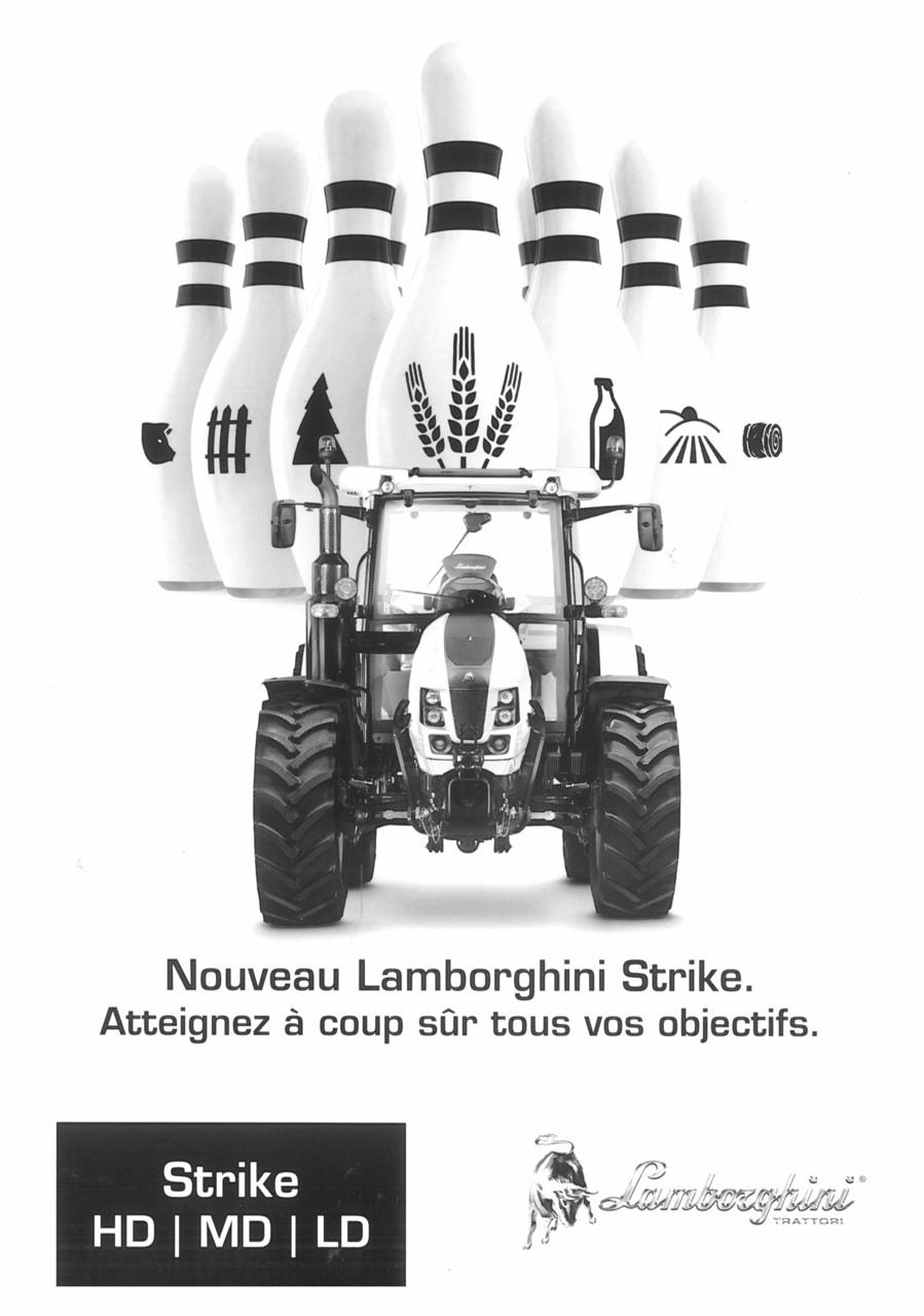 Nouveau Lamborghini Strike. Atteignez à coup sûr tous vos objectifs