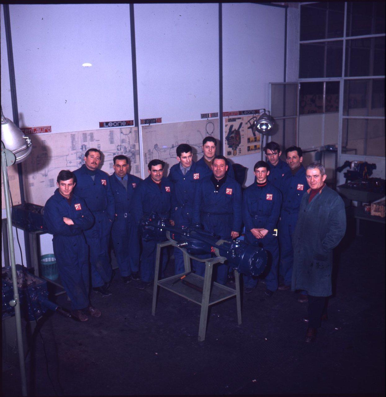 Corso meccanici SAME al personale interno