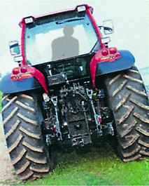 [SAME] trattore Rubin 200, vista frontale e vista posteriore