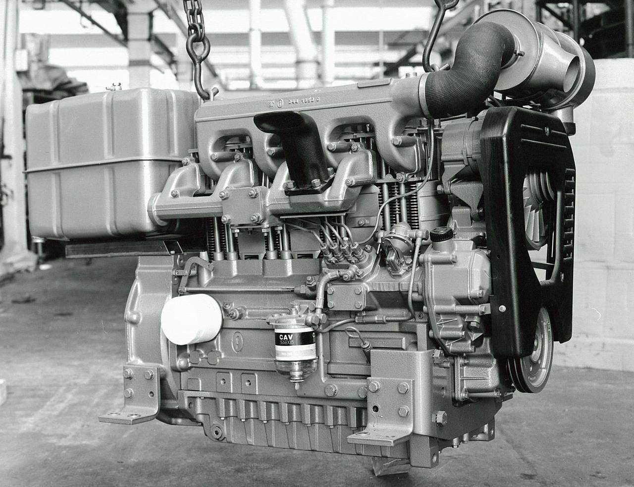 Motore SAME/ADIM serie P per uso industriale - 4 cilindri