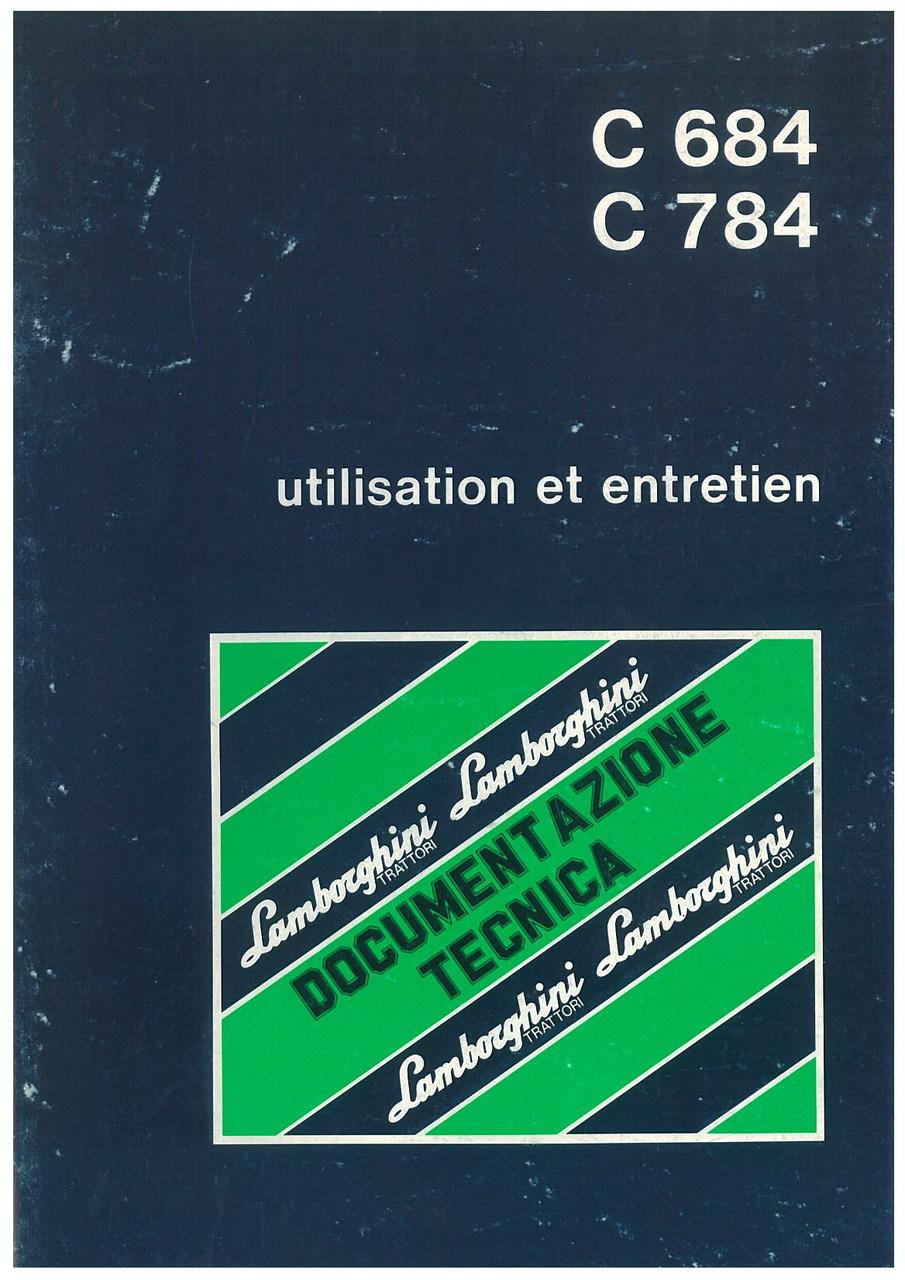 C 684 - L/C 784 - L - Utilisation et Entretien