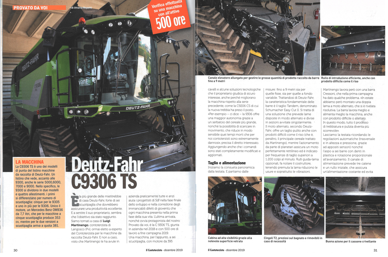 Deutz-Fahr C9306 TS
