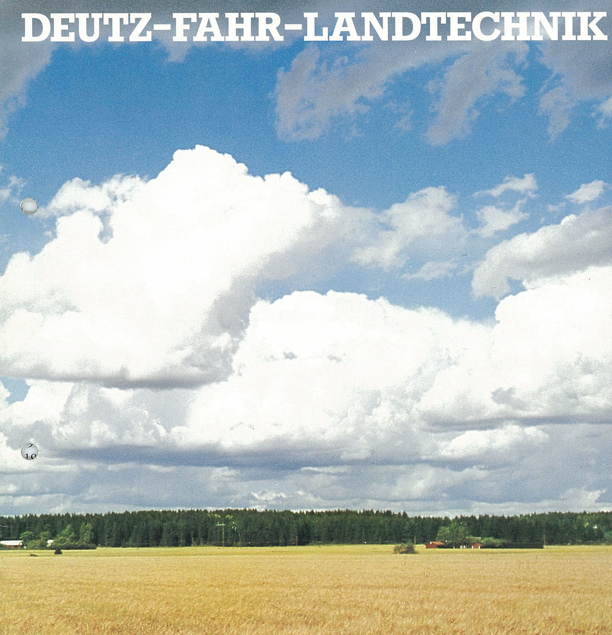 DEUTZ-FAHR-LANDTECHNIK