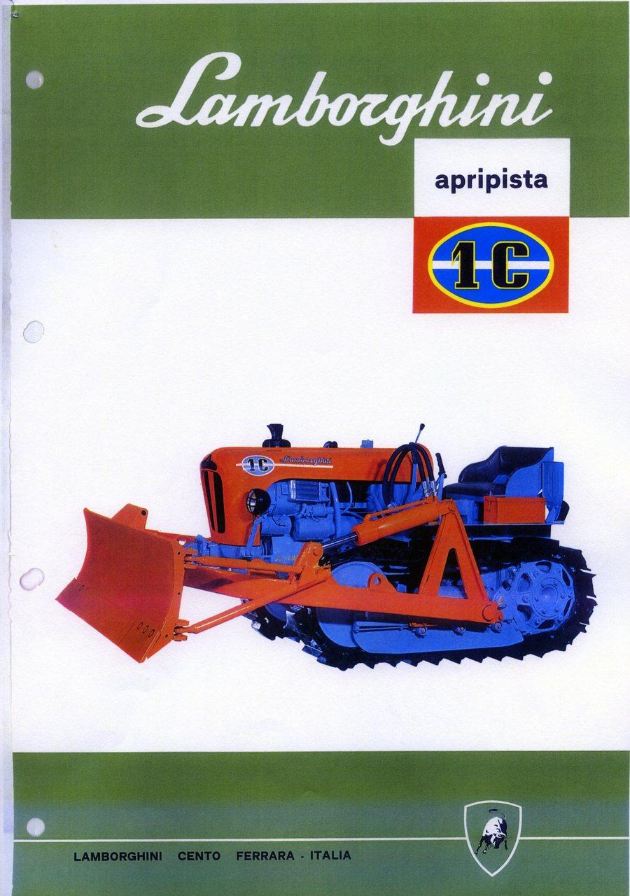 Lamborghini 1 C apripista