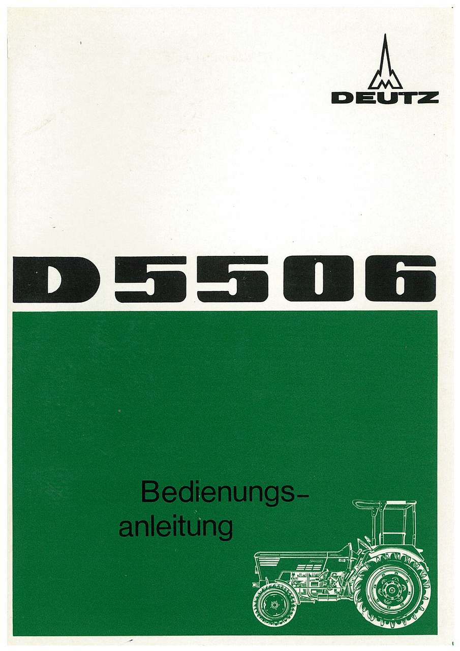D 55 06 - Bedienungsanleitung