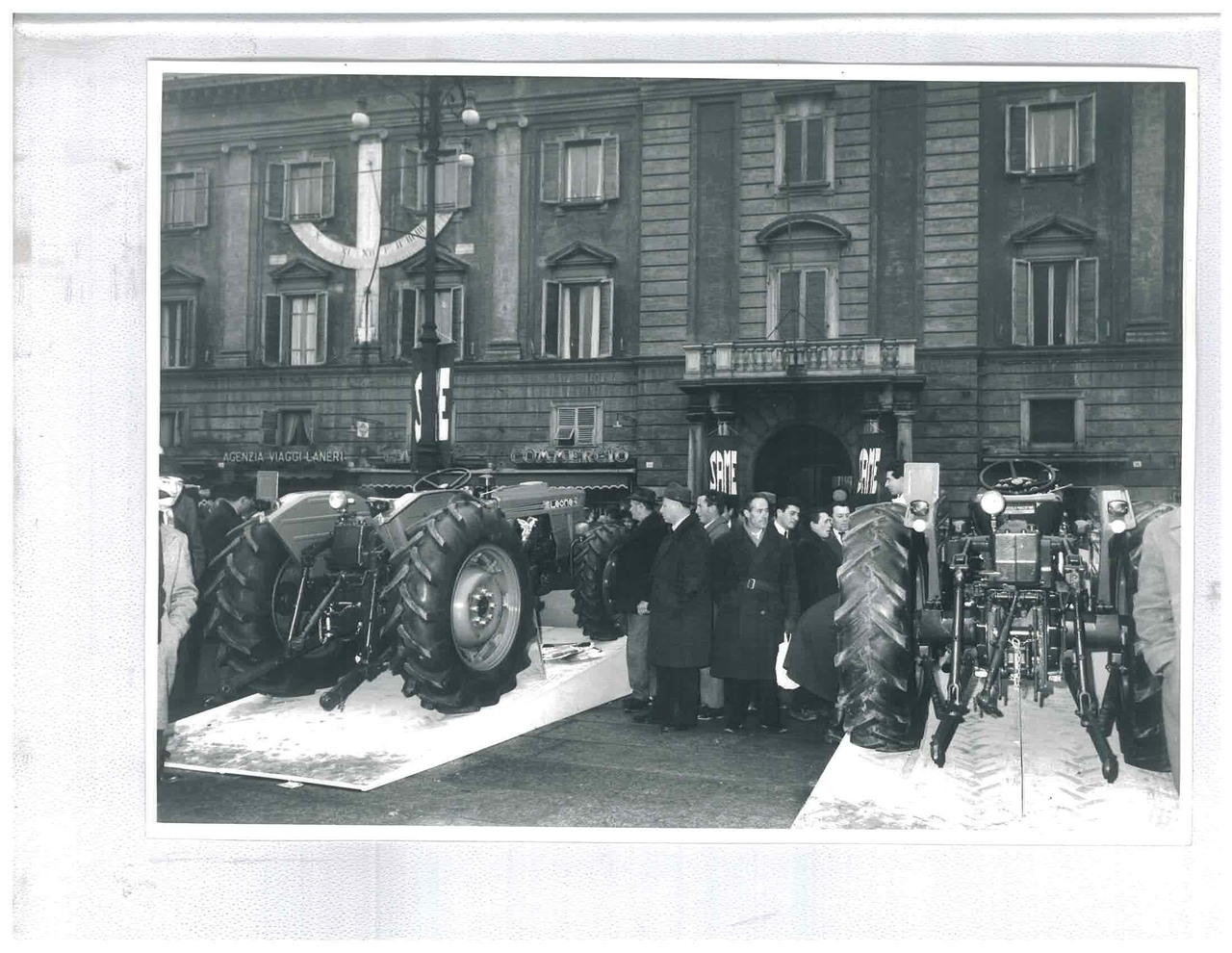 Lancio del trattore SAME Leone 70 a Piacenza