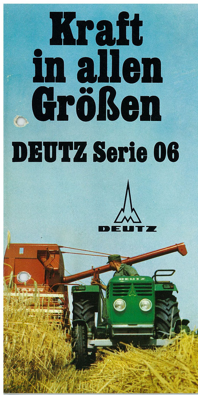 DEUTZ SERIE 06 - KRAFT IN ALLEN GRÖSSEN