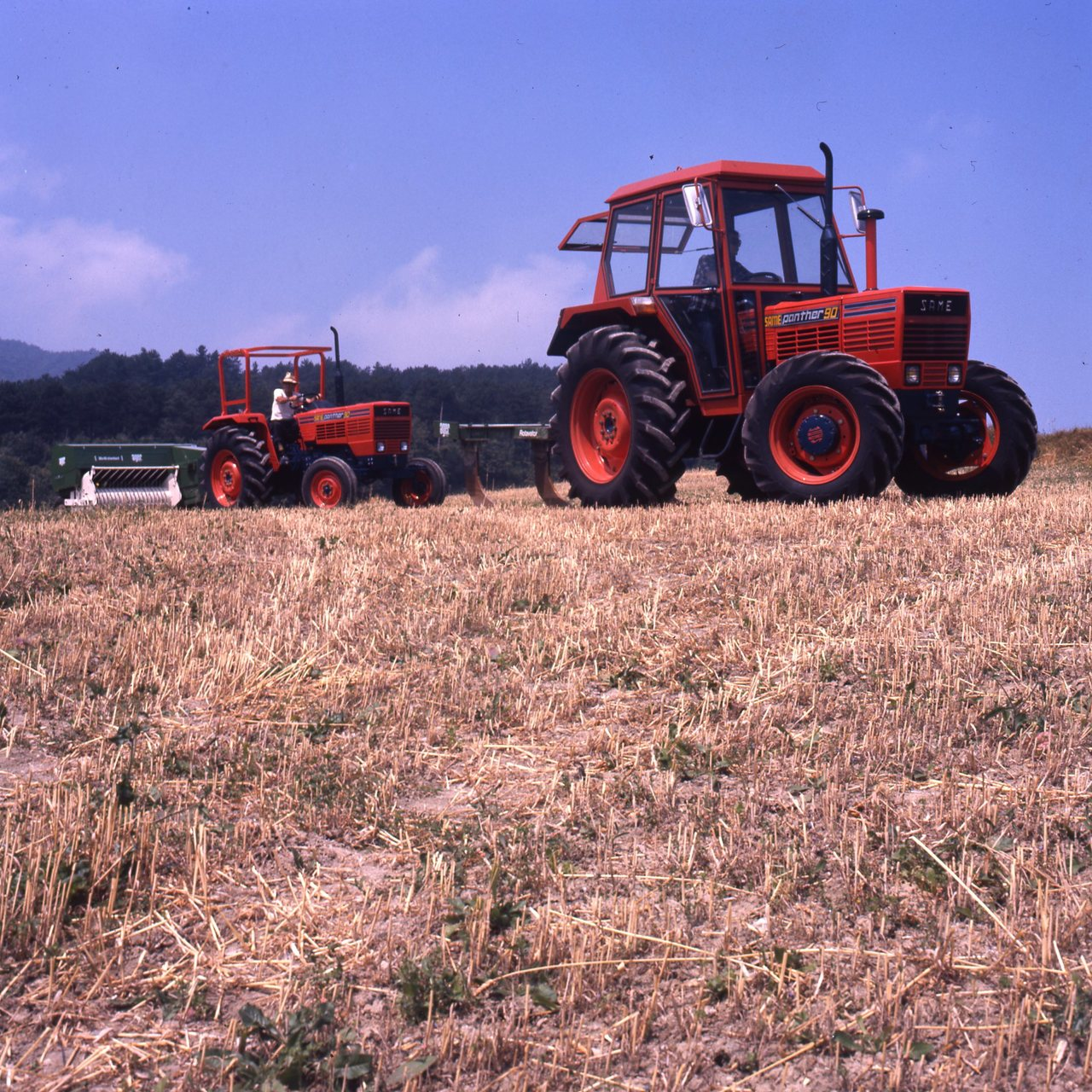 [SAME] trattore Panther 90 a 2 ruote motrici e doppia trazione al lavoro