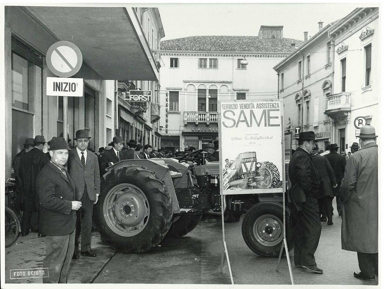 Lancio del trattore SAME Leone 70 ad Adria