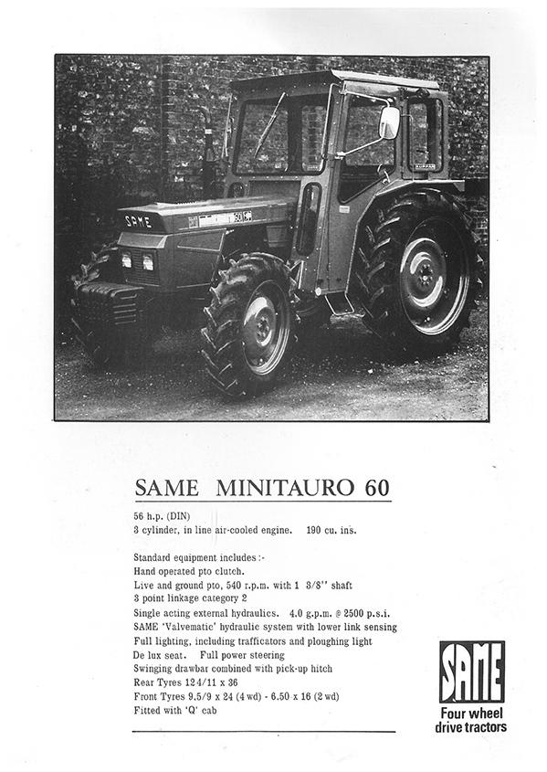 SAME Minitauro 60