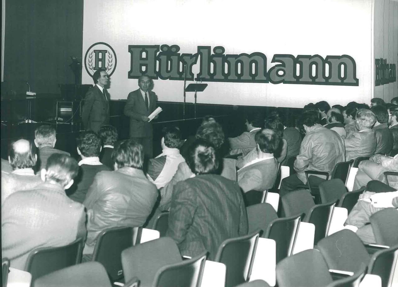Riunione Agenti Hurlimann
