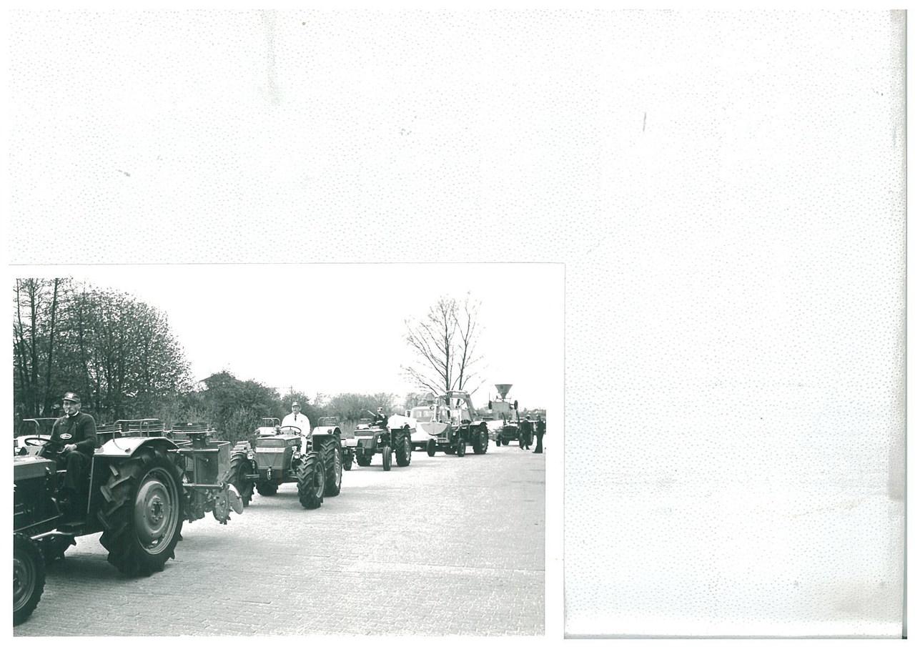 Sfilata di trattori SAME per l'anniversario della Regina Giuliana d'Olanda
