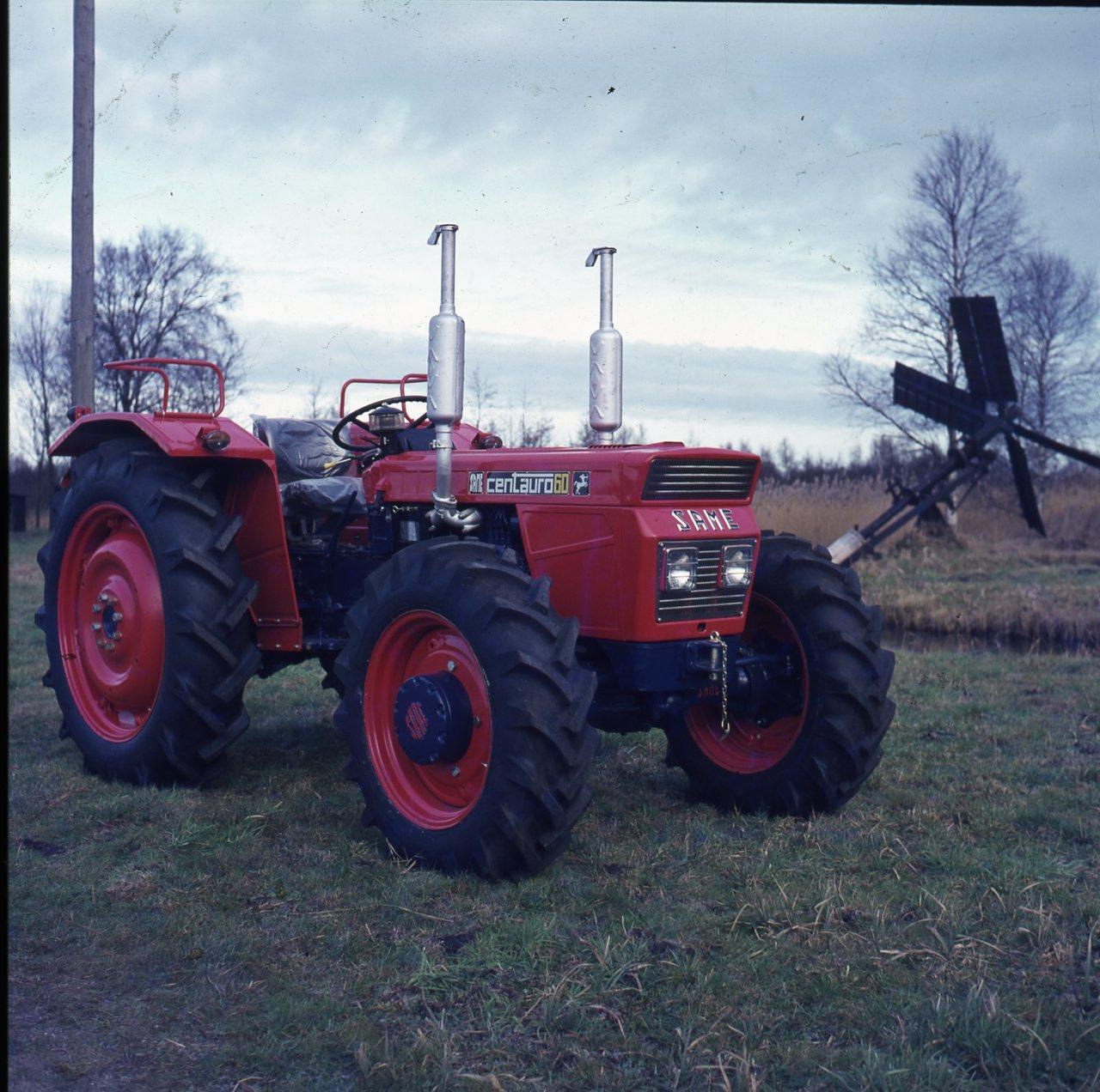 [SAME] Trattori SAME in Olanda (lett. Cebeco 15/6/71)