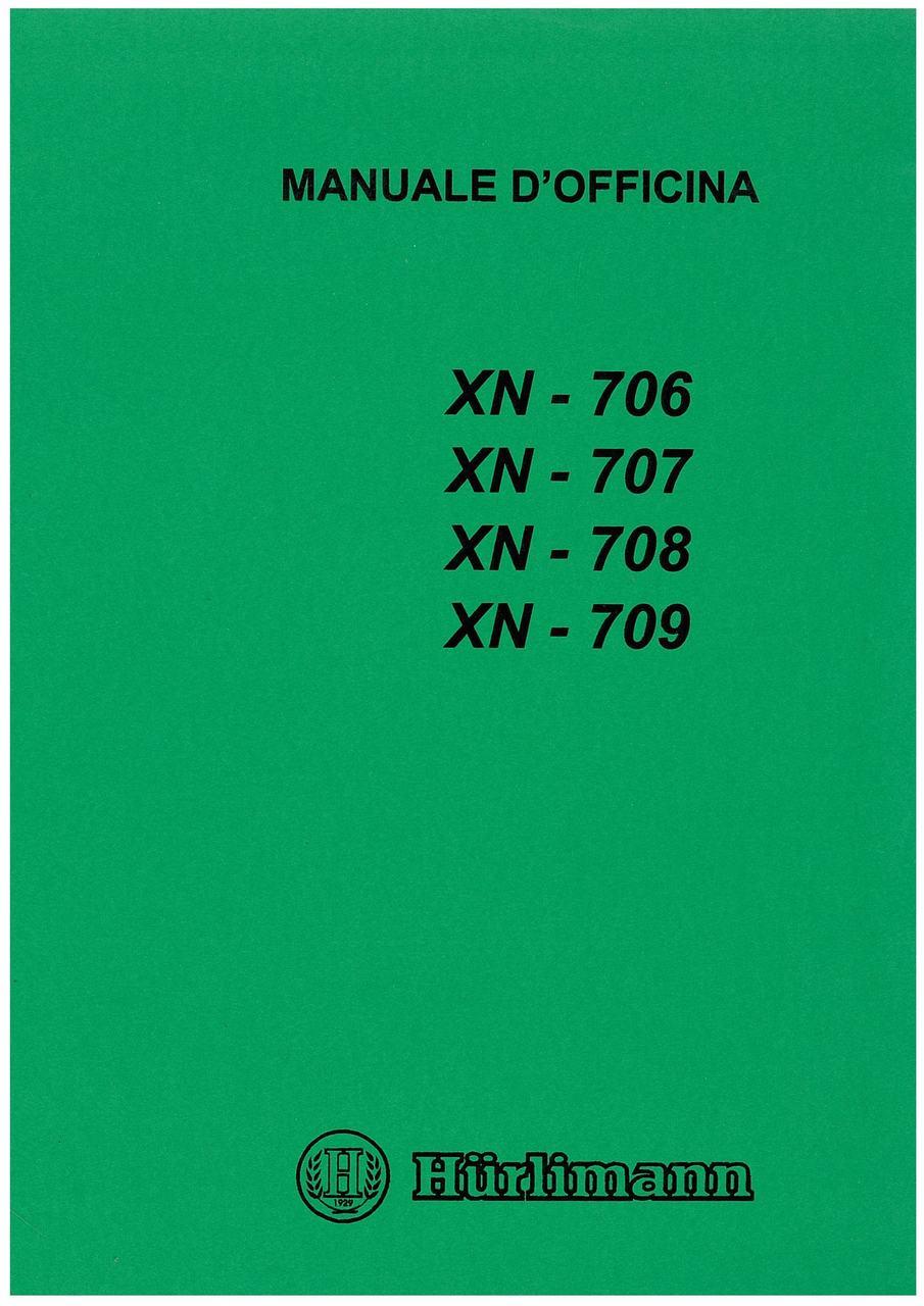 XN 706 - 707 - 708 - 709 - Manuale d'officina