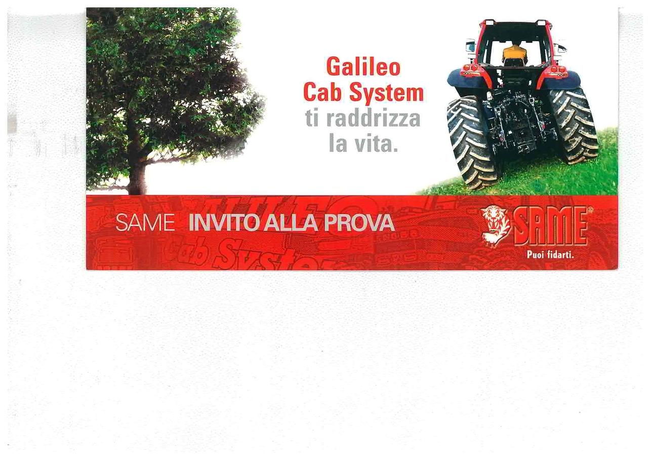 GALILEO CAB SYSTEM