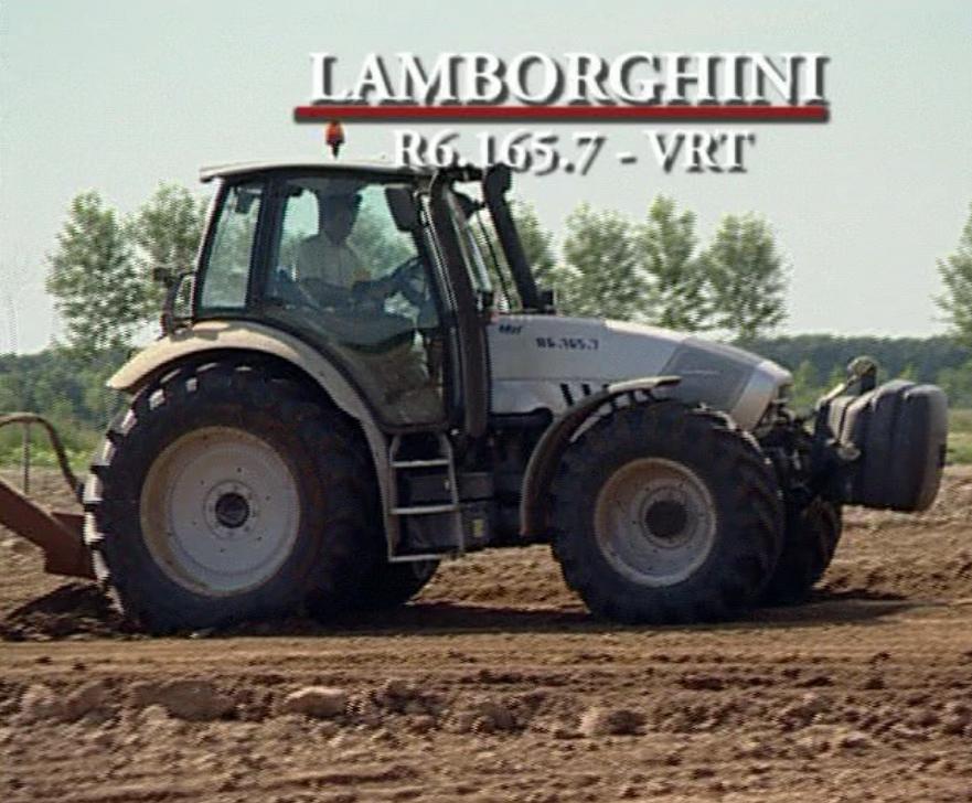 Prova in campo Lamborghini R6 165.7 VRT - parte I