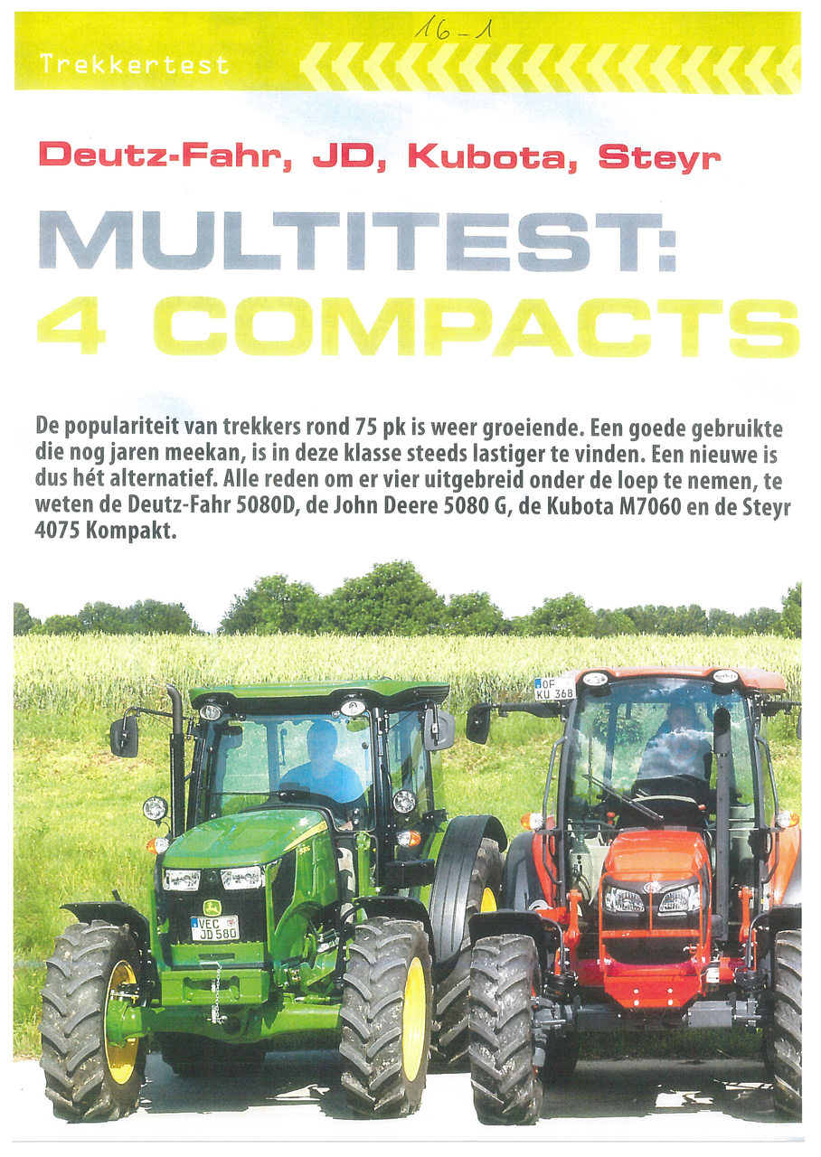 Multitest: 4 compacts