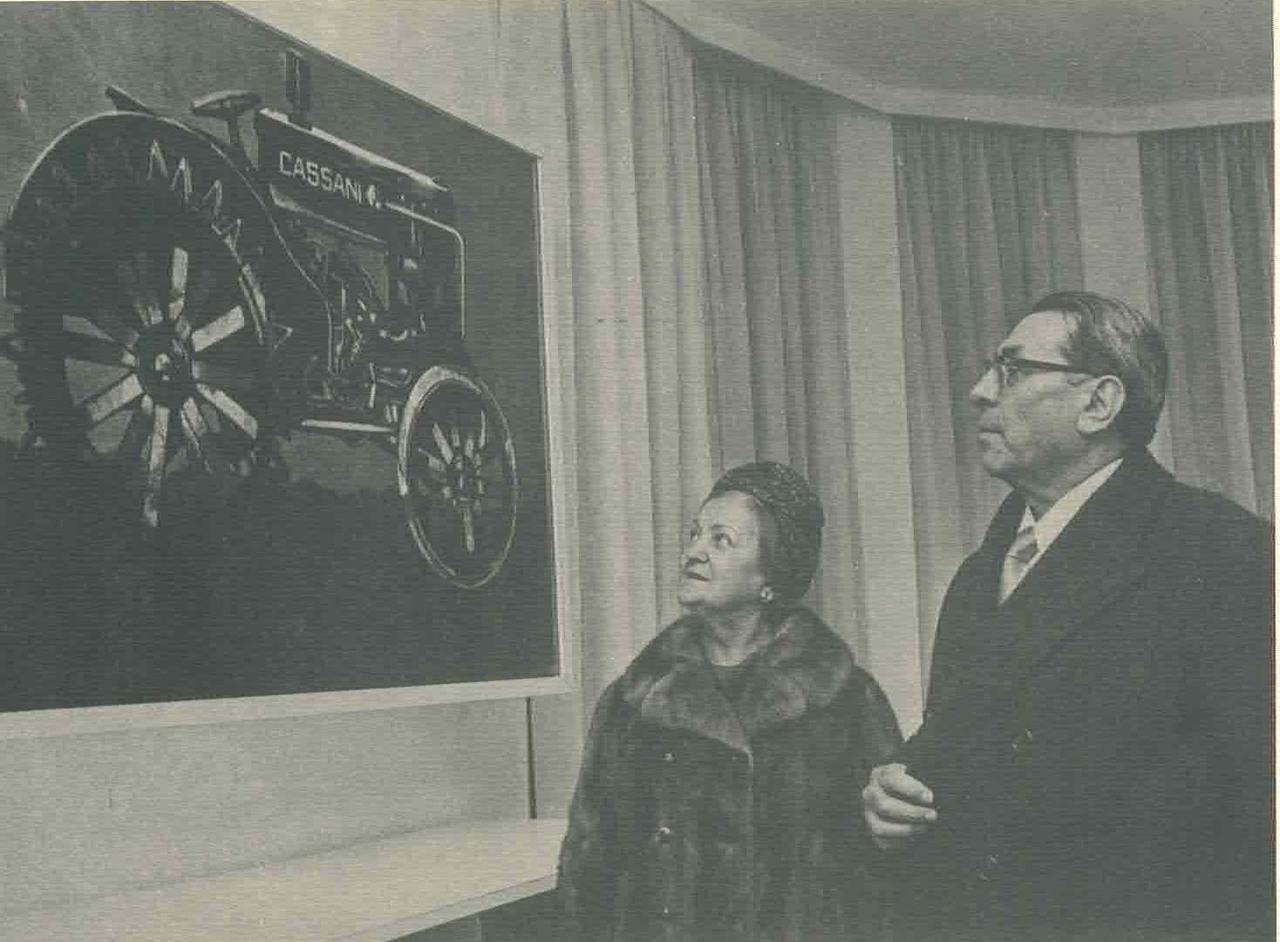 Ing. Francesco Cassani e la moglie Maria Campana