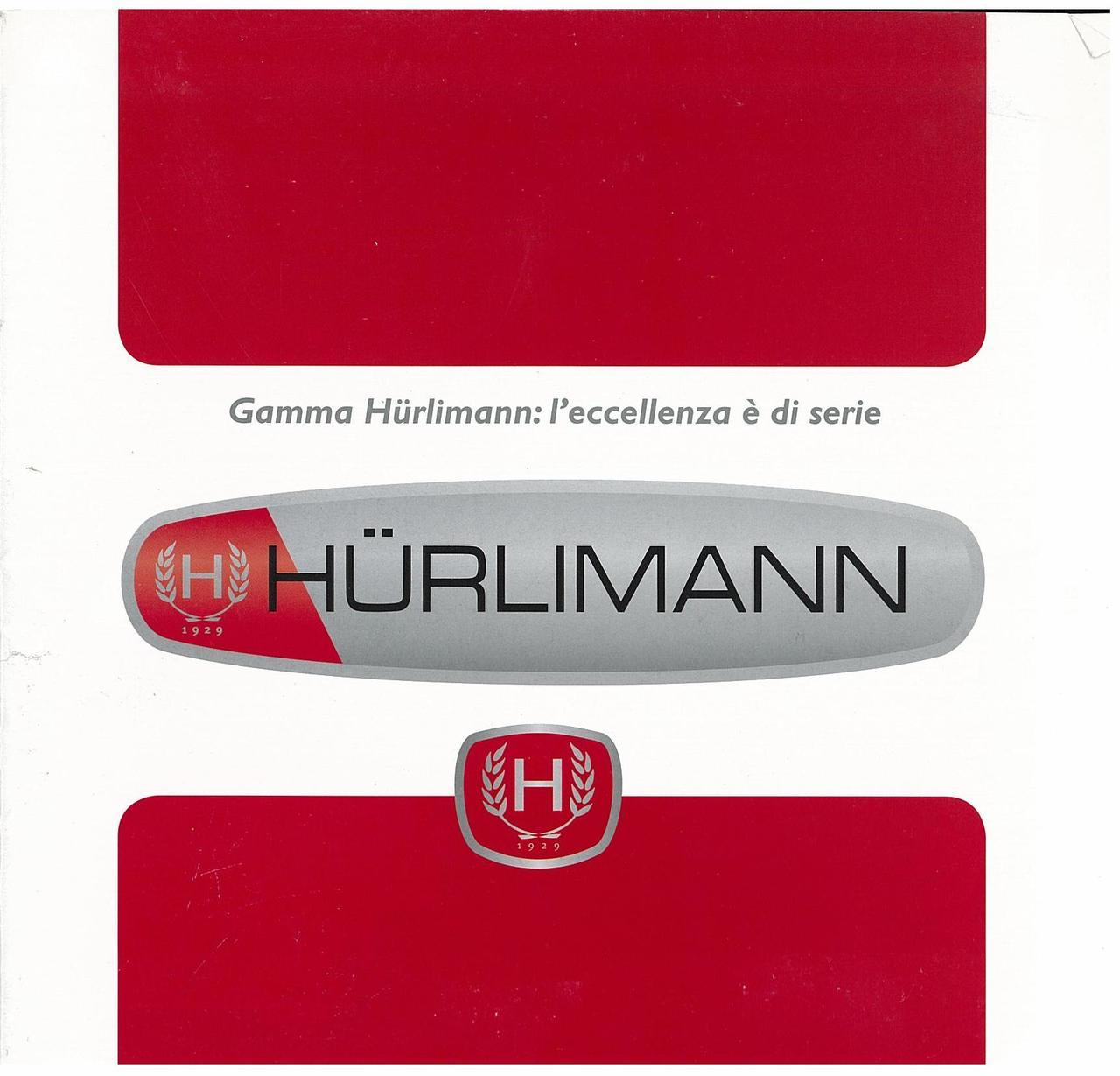 Catalogo di Gamma - Gamma Hurlimann : l'eccellenza è si seire
