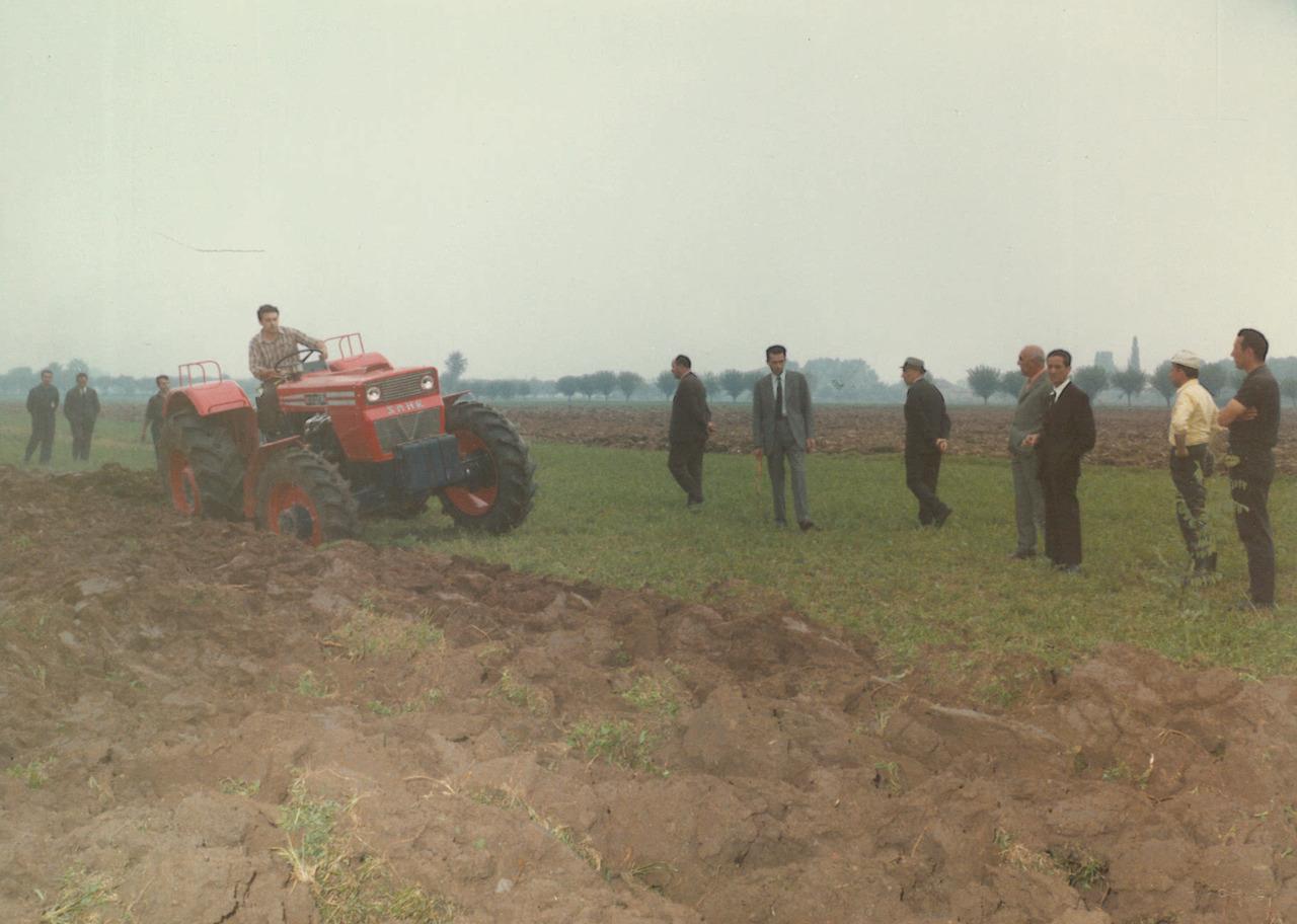 Prove eseguite con il trattore SAME Buffalo a Gossolengo (Piacenza)