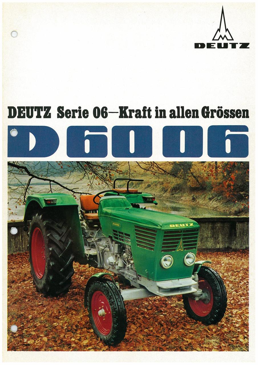 DEUTZ D6006 - KRAFT IN ALLEN GRÖSSEN