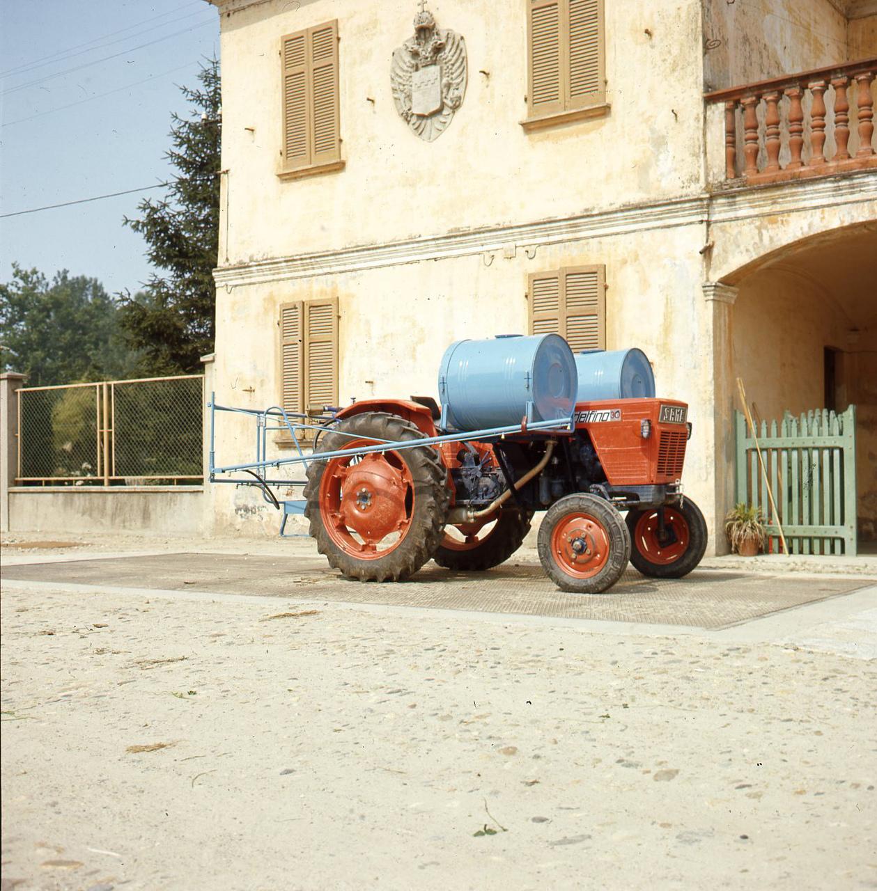 """[SAME] Prove """"sperimentale 3"""" in trattamento di diserbo su risaia della Cascina Torre - Robbio Lomellina (PV) 25/06/70"""