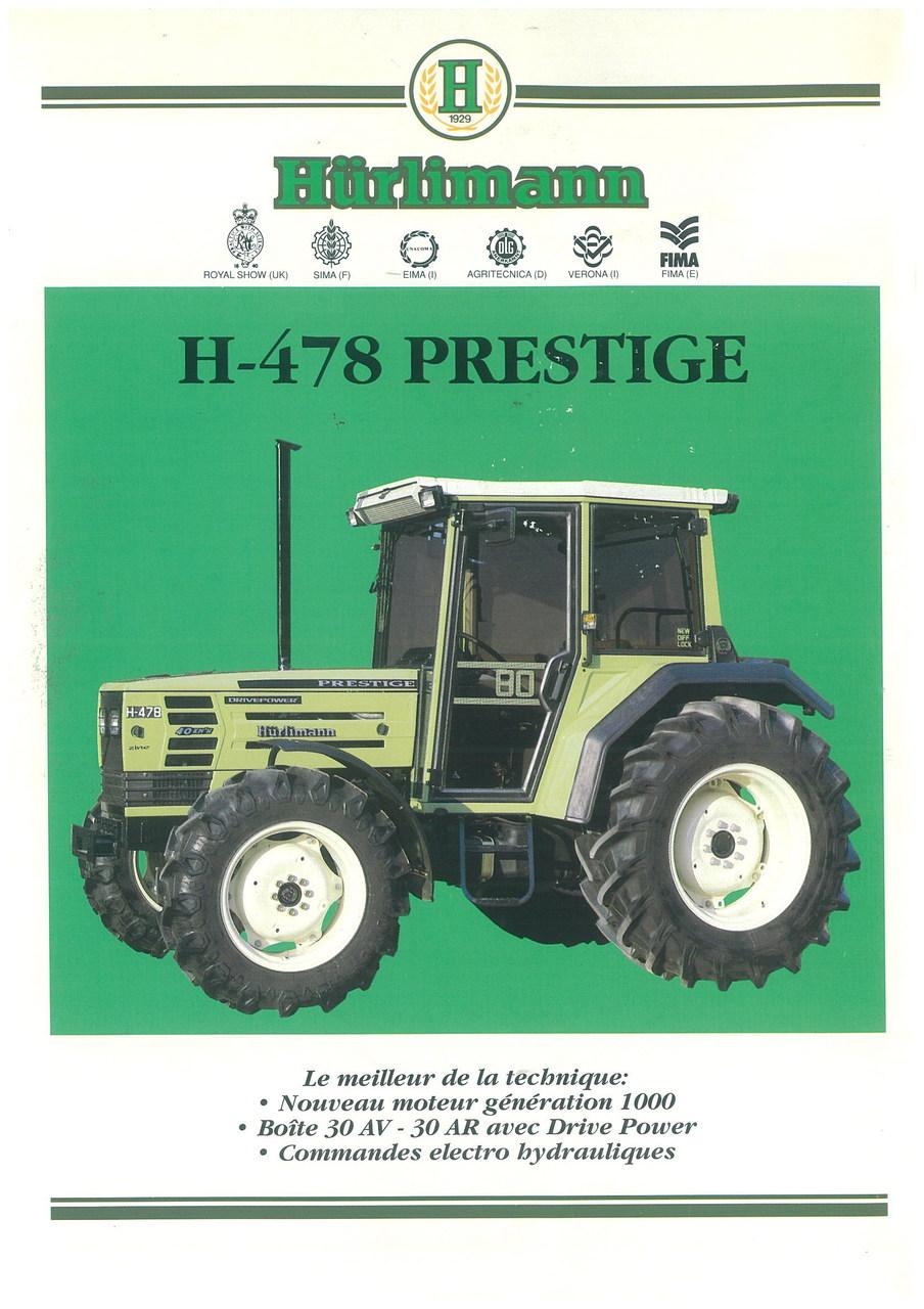 H 478 PRESTIGE