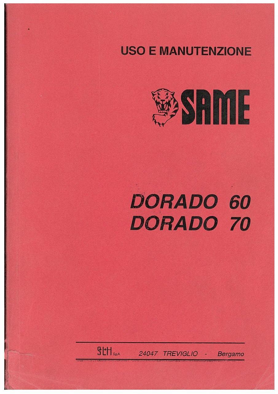DORADO 60 - 70 - Libretto Uso & Manutenzione