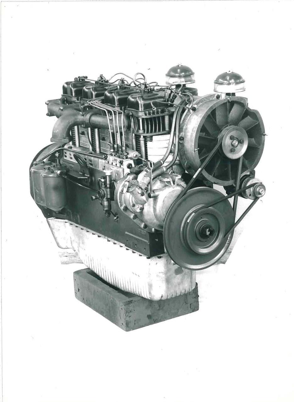 Motore SAME DA 1154 per trattore 480