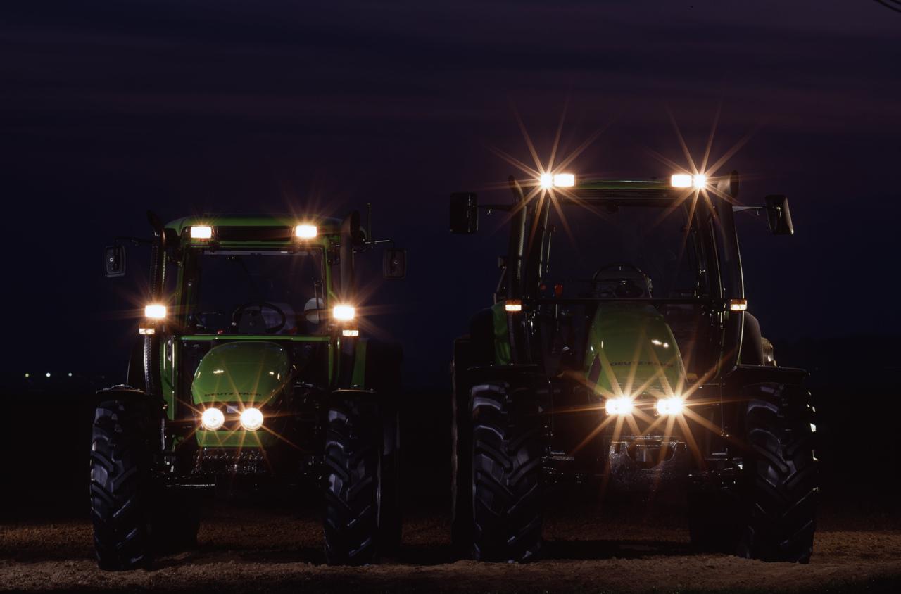 [Deutz-Fahr] trattori Agrotron e Agroplus prima serie