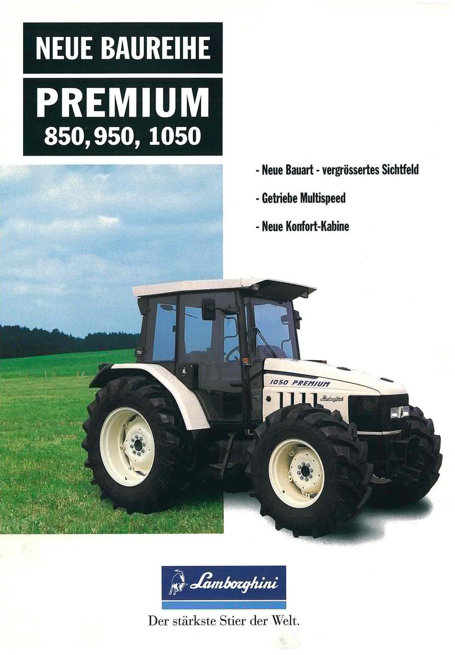 Neue Baureihe PREMIUM 850 - 950 - 1050 -1060