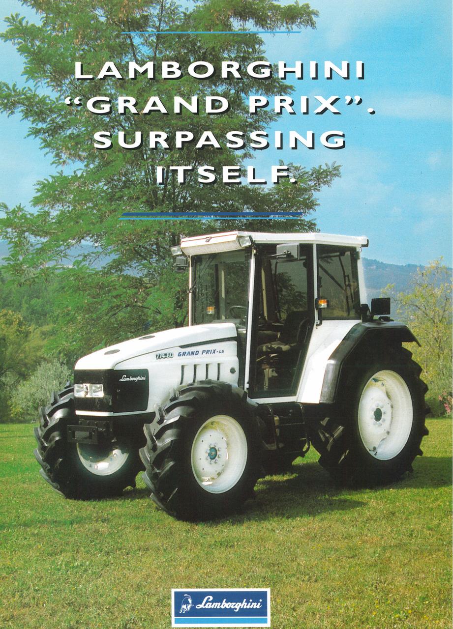 "LAMBORGHINI ""GRAND PRIX"" - Surpassing itself"