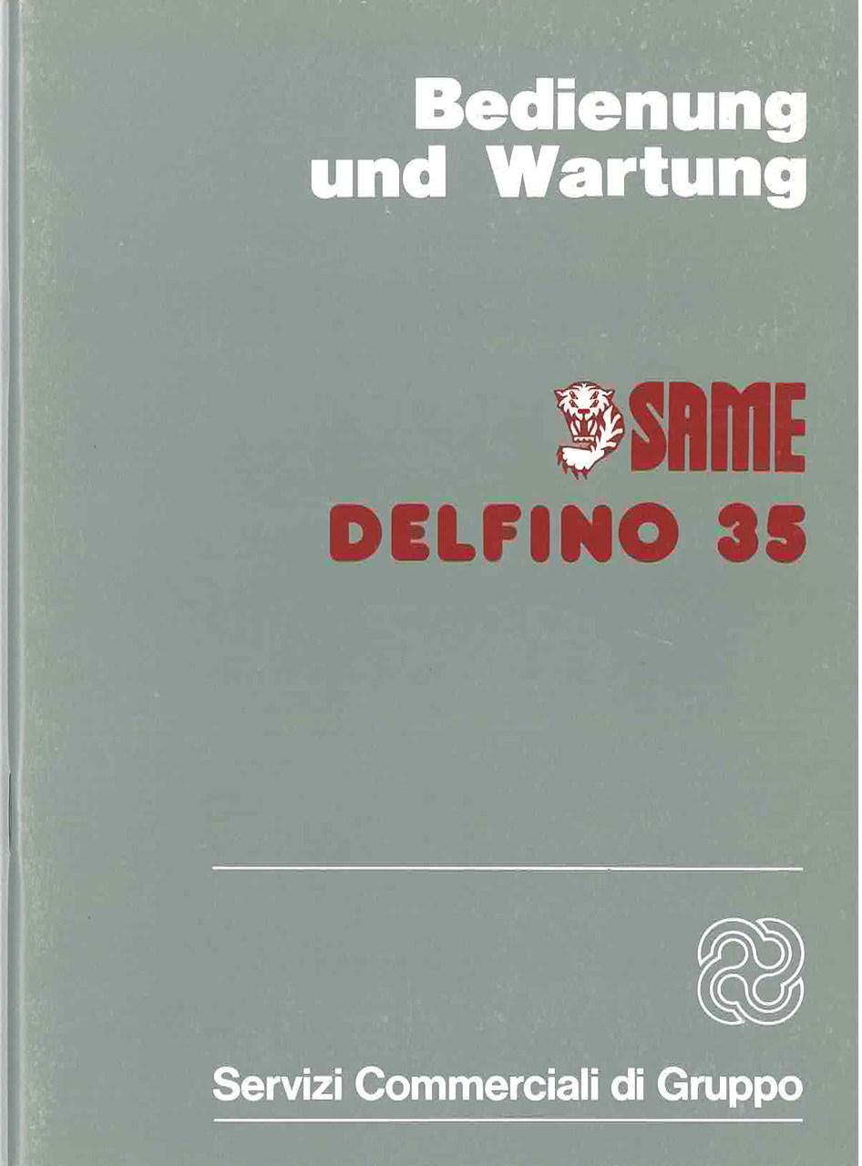 DELFINO 35 - Bedienung und Wartung