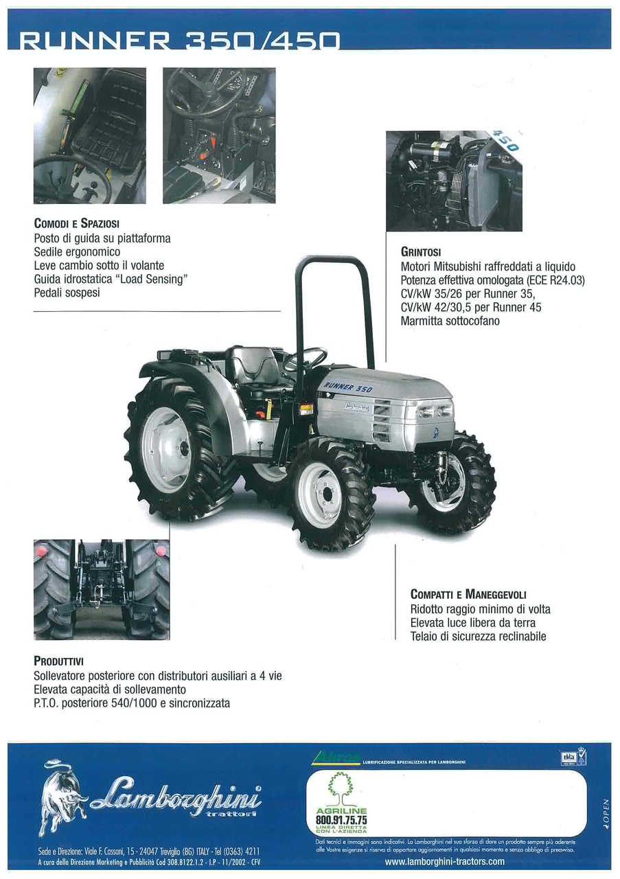 RUNNER 350 - 450