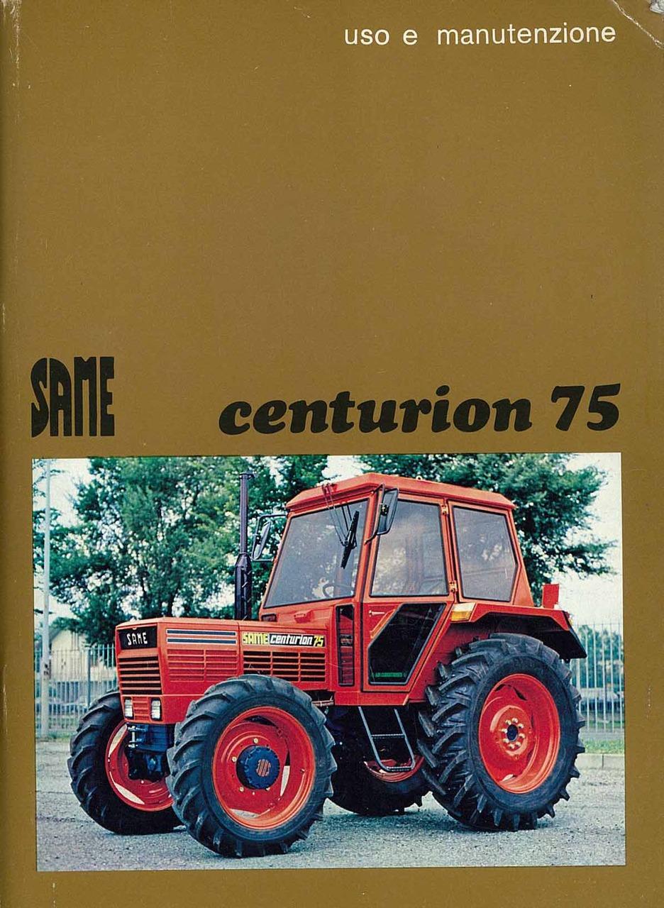 CENTURION 75 - Libretto uso & manutenzione