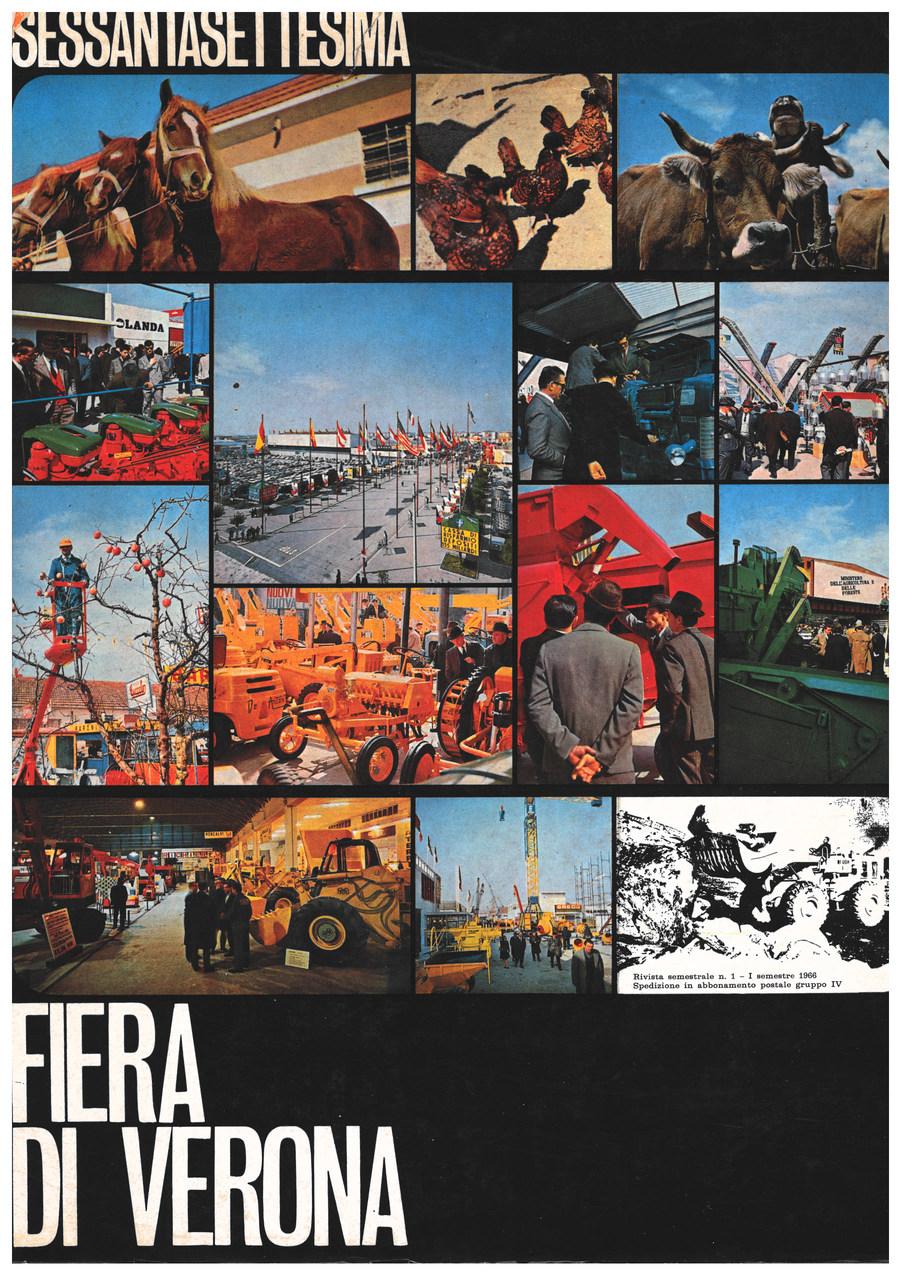 Sessantasettesima FIERA DI VERONA, Verona, Fiera di Verona, 1965