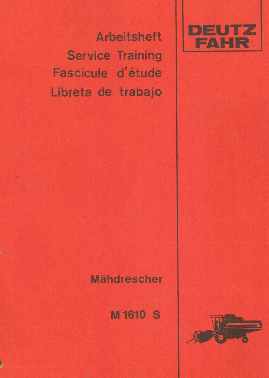 M 1610 S - Arbeitsheft