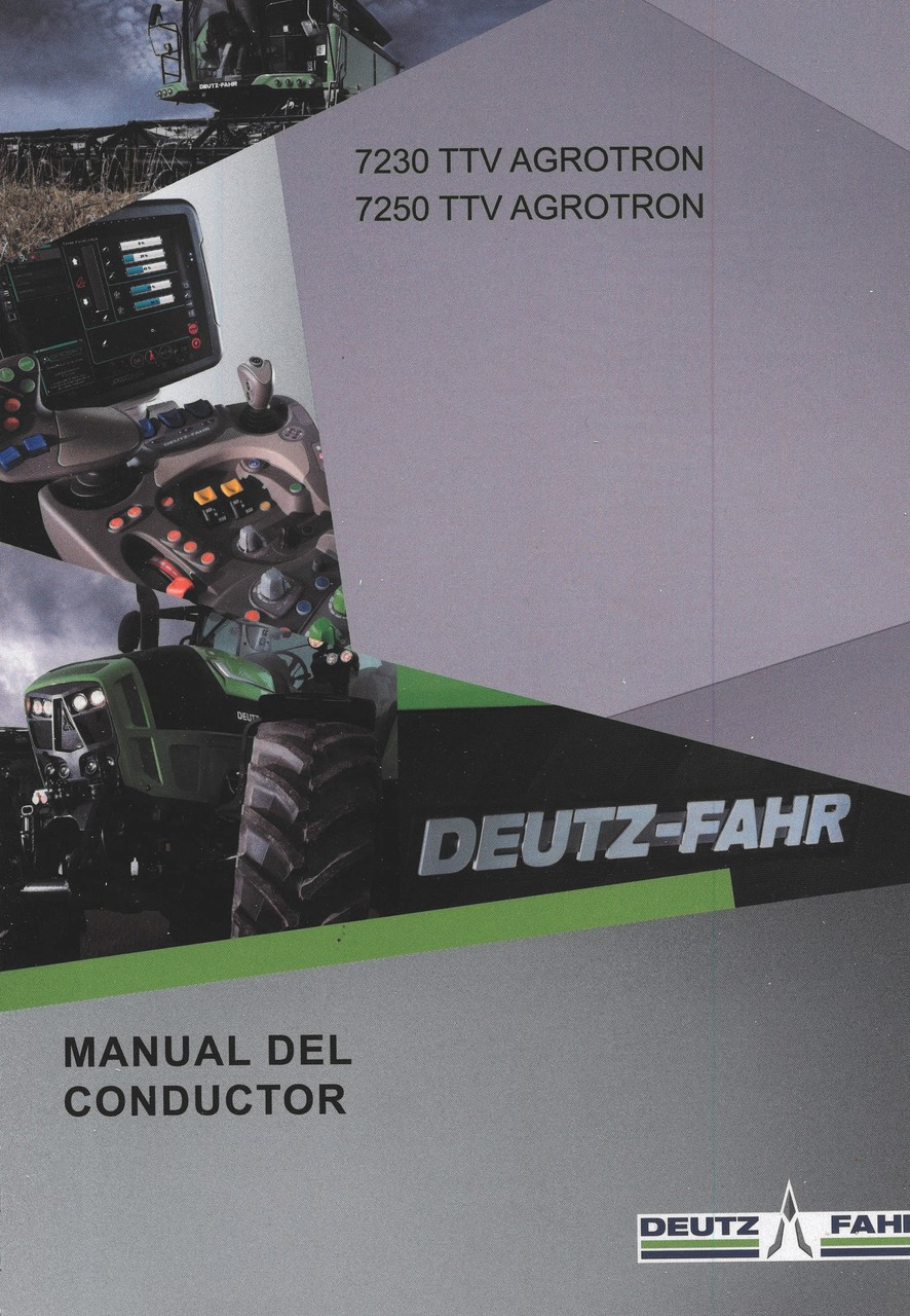 7230 TTV AGROTRON - 7250 TTV AGROTRON - Manual del conductor