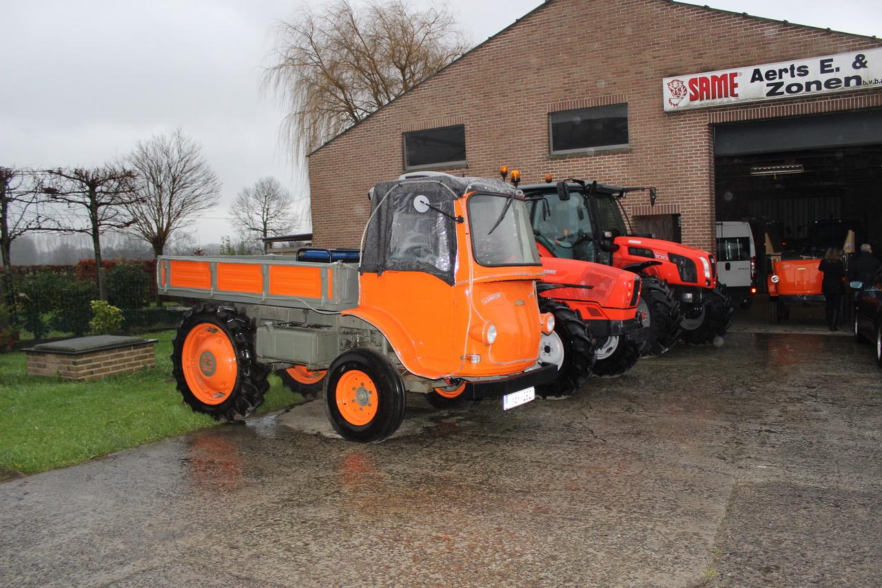 Trattore SAME Virtus 100, SAME Argon e Samecar Agricolo in Belgio
