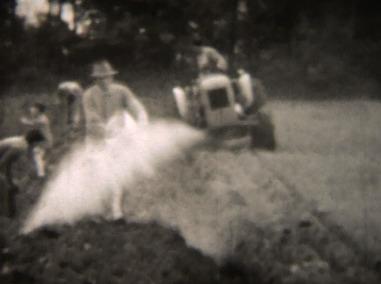 Aratura con trattore SAME DA 25