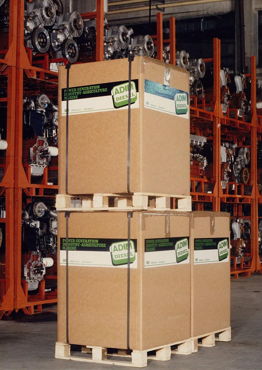 Motore ADIM per uso industriale - Imballaggio di spedizione